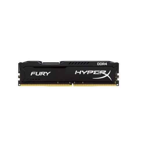 رم کامپيوتر کينگستون 4GB HyperX Fury DDR4 2400MHz