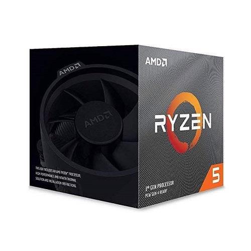 پردازنده مرکزی ای ام دی مدل Ryzen 5 3600x  باندل با مادربرد
