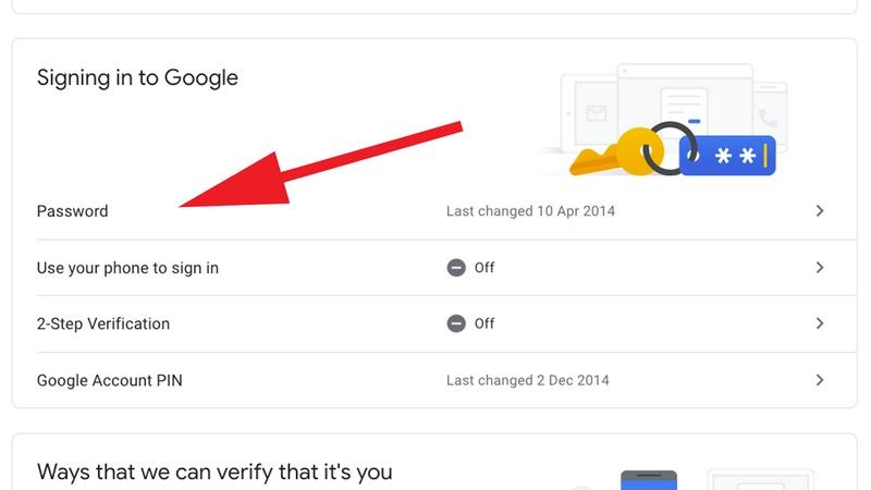 نحوه  بازنشانی  گذرواژه ی فراموش شده ی حساب گوگل