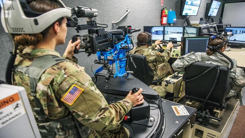 آموزش پرسنل نظامی با عینک های واقعیت مجازی