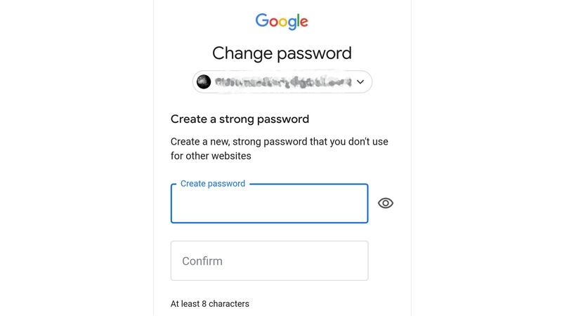 بازنشانی  گذرواژه ی فراموش شده ی حساب گوگل