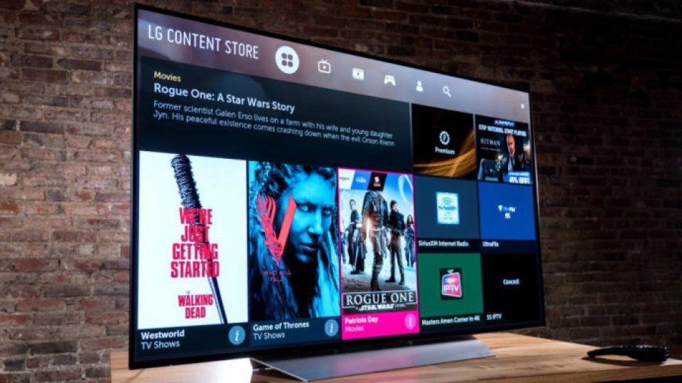 قیمت تلویزیون هوشمند ال جی
