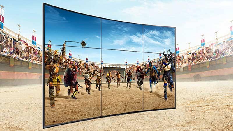 بررسی تفاوت تلویزیونهای خانگی با نمایشگرهای اسمارت ساینیج سامسونگ