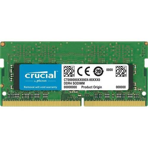 رم لپ تاپ DDR4 تک کاناله 2400 مگاهرتز CL17 کروشیال ظرفیت 16 گیگابایت | Crucial DDR4 2400MHz CL17 Single Channel Laptop R