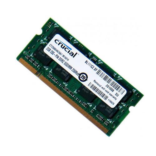رم لپ تاپ کروشیال مدل DDR2  ظرفیت 2 گیگابایت | Crucial DDR2 RAM - 2GB