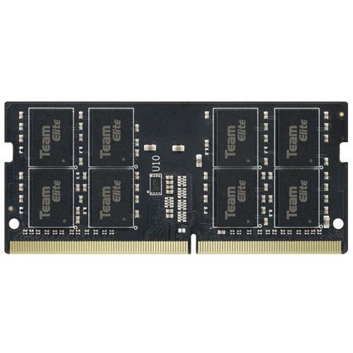 رم لپ تاپ DDR4 تک کاناله 2400 مگاهرتز CL16 تیم گروپ مدل Elite ظرفیت 16 گیگابایت | Team Group Elite DDR4 2400MHz CL16 Single Channel