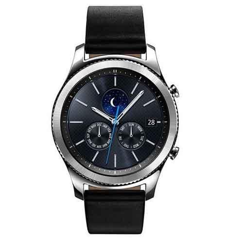ساعت هوشمند سامسونگ مدل Gear S3 Classic SM-R770 Black Leather | Samsung Gear S3 Classic SM-R770 Black Leather Sma