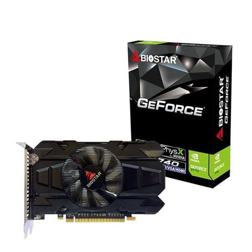 کارت گرافیک بایوستار مدل جی تی ۷۴۰ با ظرفیت ۴ گیگا | Biostar GeForce GT740 4GB DDR3 128bit Graphic Car